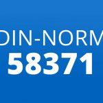 Definition DIN 58371